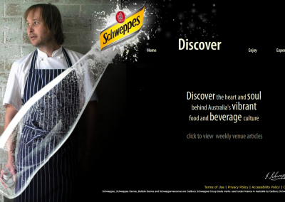 Schweppes Copywriting