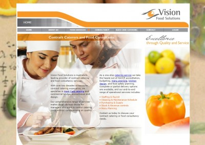 Catering Website Content