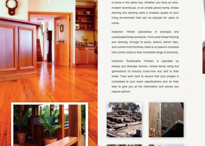 Advertorial writing for Sustainable Timber