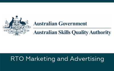 Marketing Guidelines for the Australian Skills Quality Authority