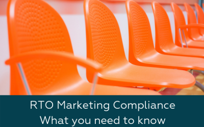RTO Marketing Compliance